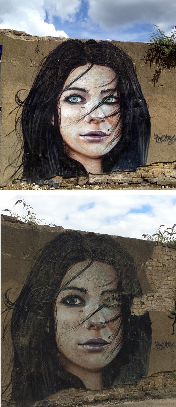 774 дня спустя! Картинки, Граффити, Искусство, Фото, Время идет, Эми Уайнхаус