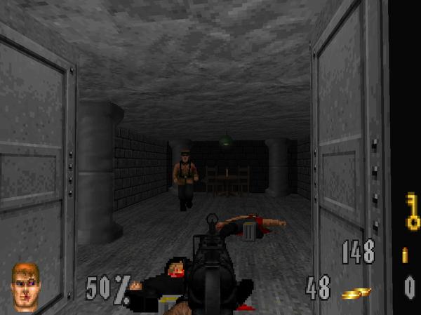 Escape From Castle Wolfenstein - Edge mod Windows, Wolfenstein, Edge, Doom, Длиннопост