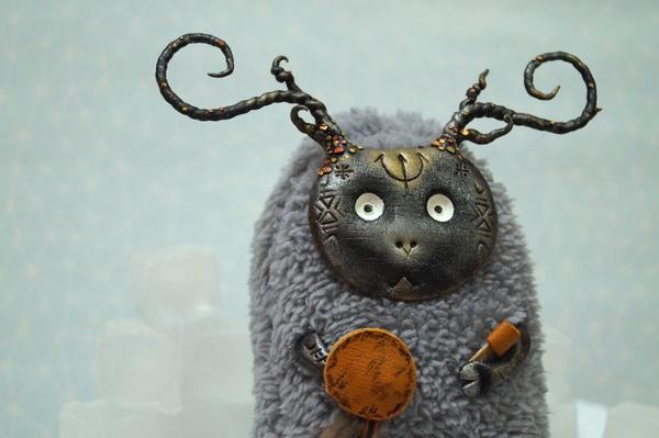 Новые существа! Интерьерная игрушка, Ручная работа, Полимерная глина, Смешанная техника, Своими руками, Handmaid, Длиннопост