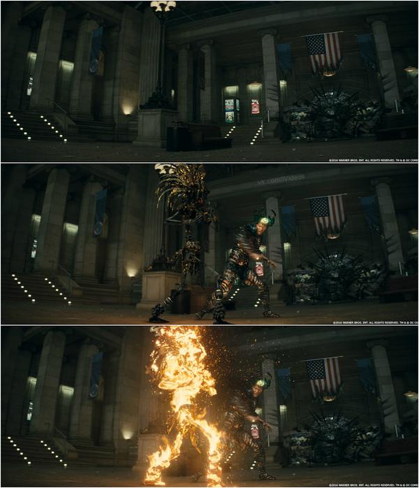 Спецэффекты фильма «Отряд самоубийц» Отряд Самоубийц, VFX, Спецэффекты, Длиннопост, Спойлер