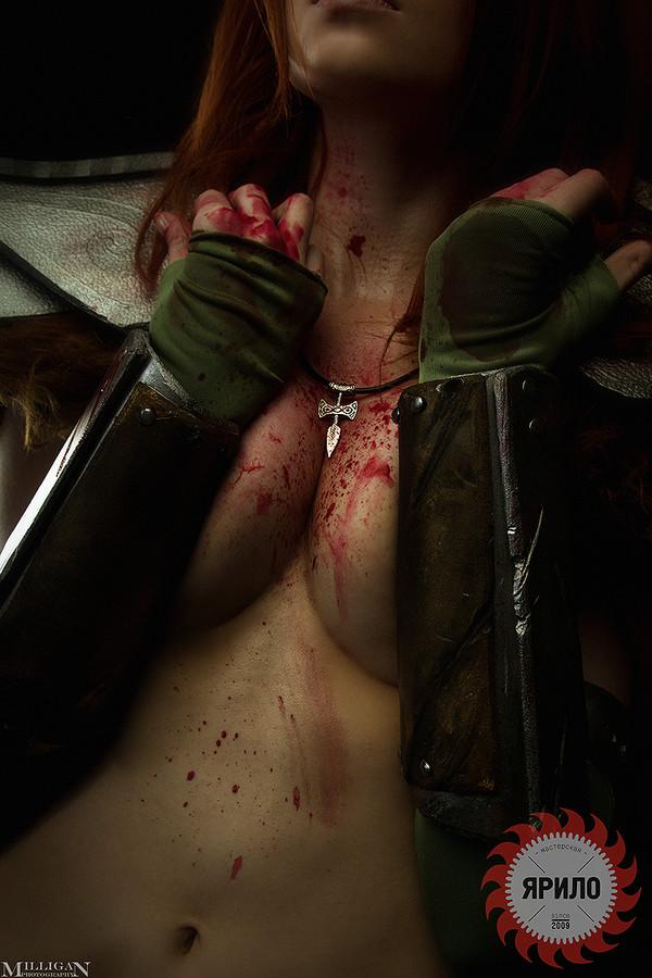 Реклама ювелирных изделий от Эйлы Охотницы Девушки, Косплей, The Elder Scrolls V: Skyrim, Skyrim, The Elder Scrolls, Геймеры, Игры, Длиннопост