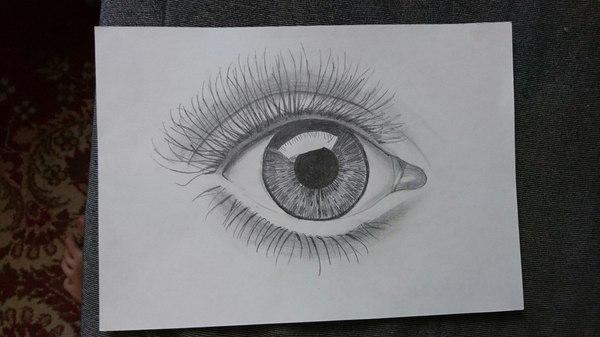 Помогите советом начинающему художнику. Глаза, Рисунок, Карандаш, Лига художников