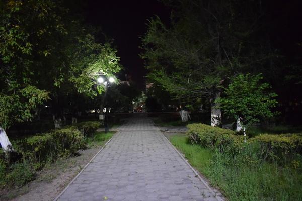 Прогулка по ночному городу Караганда, Ночь, Nikon, Фото, Фонарик, Казахстан, Первый пост
