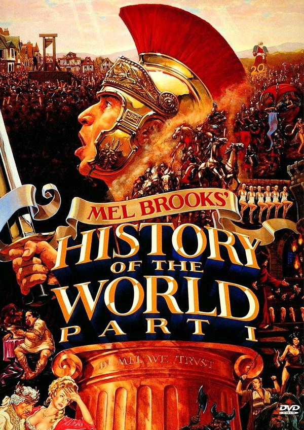 Советую посмотреть: Всемирная история. Часть первая (1981) Советую посмотреть, Мэлл Брукс, Длиннопост