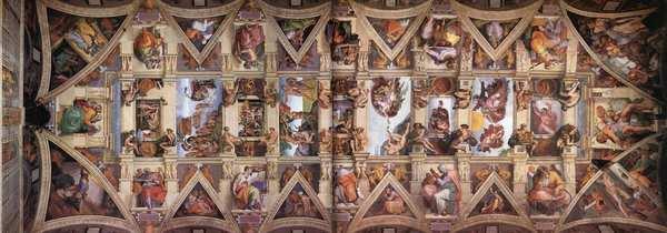 Минутка прекрасного. Микеланджело Буонарроти. Часть 3. Капелла, Сикстинская капелла, Микеланджело, Искусство, Фреска, Потолок, Алтарь, Длиннопост