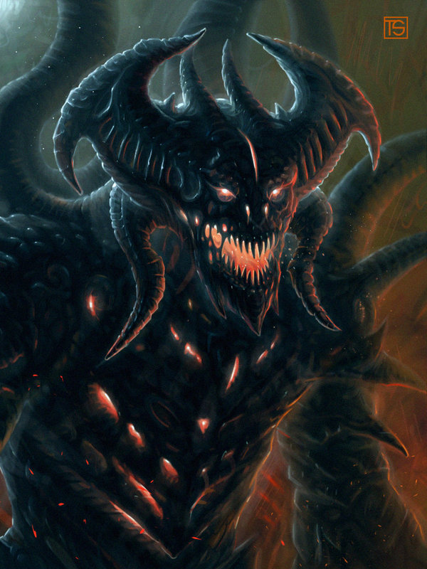 Monster's Pack Арт, Подбока, Монстр, Длиннопост
