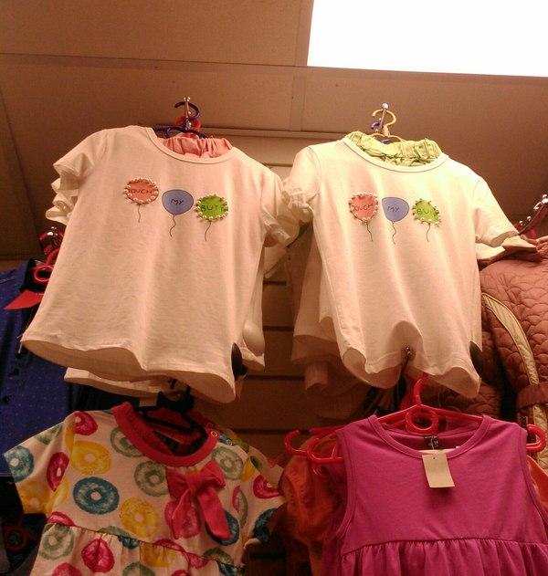 В одном детском магазине... Fail, Китайцы, Одежда, Надпись