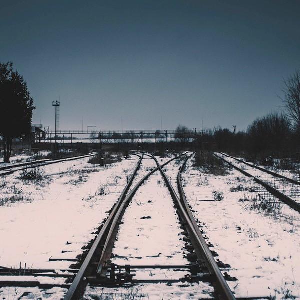 Холодная сталь. Разветвление Железная Дорога, Зима, Атмосферно
