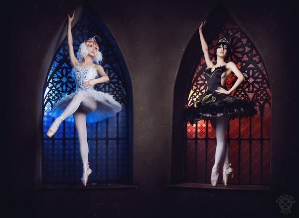 Два образа один косплеер Косплей, Девушки, Балет
