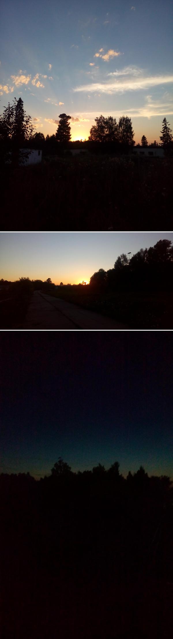 Вечерние пейзажи.Армия Пейзаж, Закат, Армия, Длиннопост