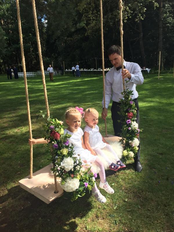 Фото моих качелей со свадьбы