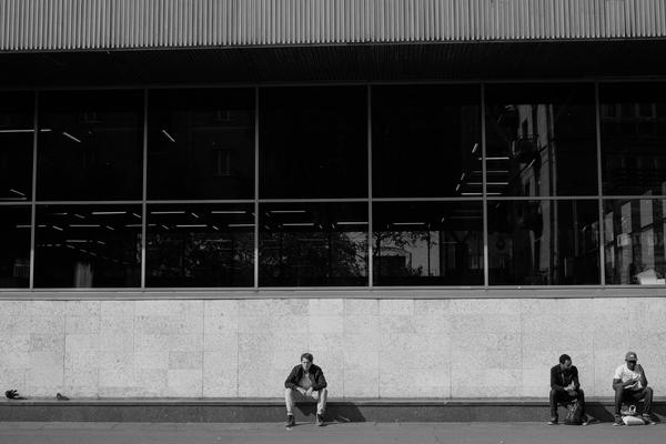 Контрасты Моё, Черно-Белое, Улица, Россия, Фотография