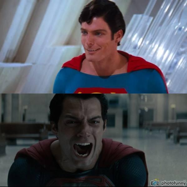 Такие разные реакции) Супермен, DC, Комиксы, Фильмы