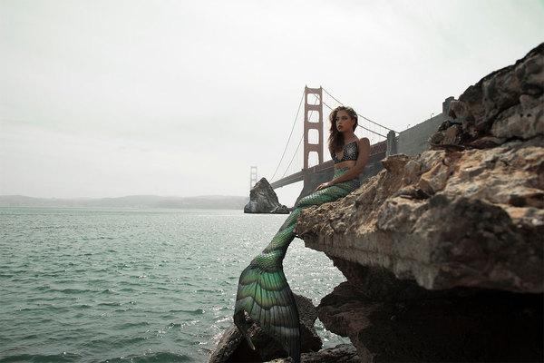 """Проект """"Mermaids"""" предлагает любителям океана примерить хвост и побыть немного русалкой Русалка, Длиннопост, Картинки, Океан, Красота"""