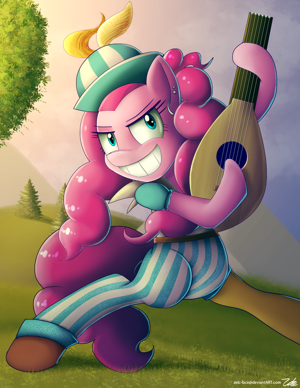 Pinkie Pie as a Bard