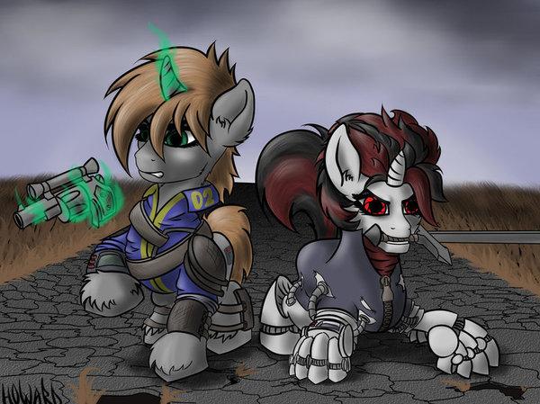 Реализм, bitch. My little pony, Fallout: Equestria, FoE: Project Horizons, Littlepip, Блекджек