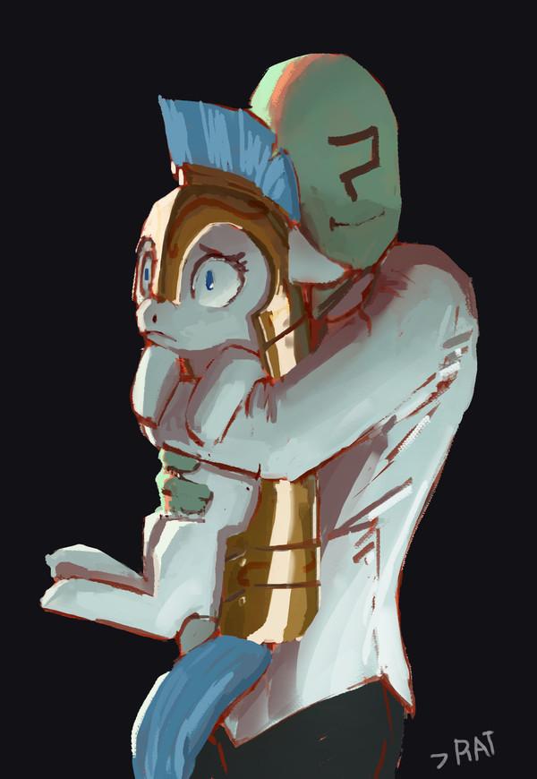 Солдат должен стойко переносить все тяготы и лишения воинской службы. My little pony, Royal guard, Anon