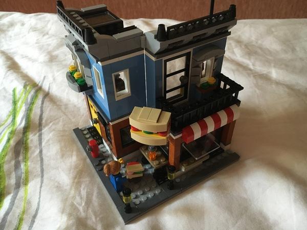 LEGO Магазинчик на углу Lego, Lego creator, Lego City, Кровькишкирасчлененка, Длиннопост