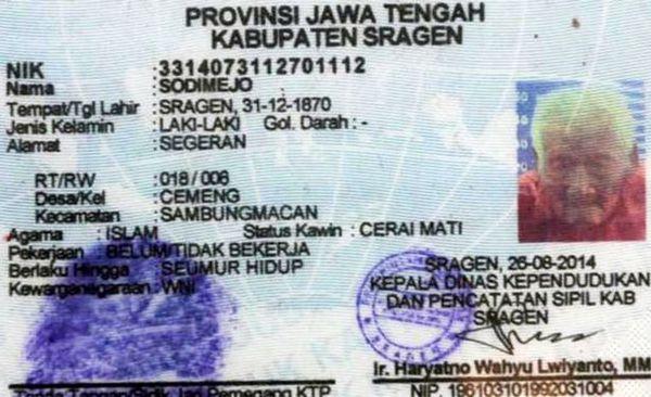 145-летний житель Индонезии мечтает о смерти История, Возраст, Индонезия, Старость, Пенсионеры, Пенсия