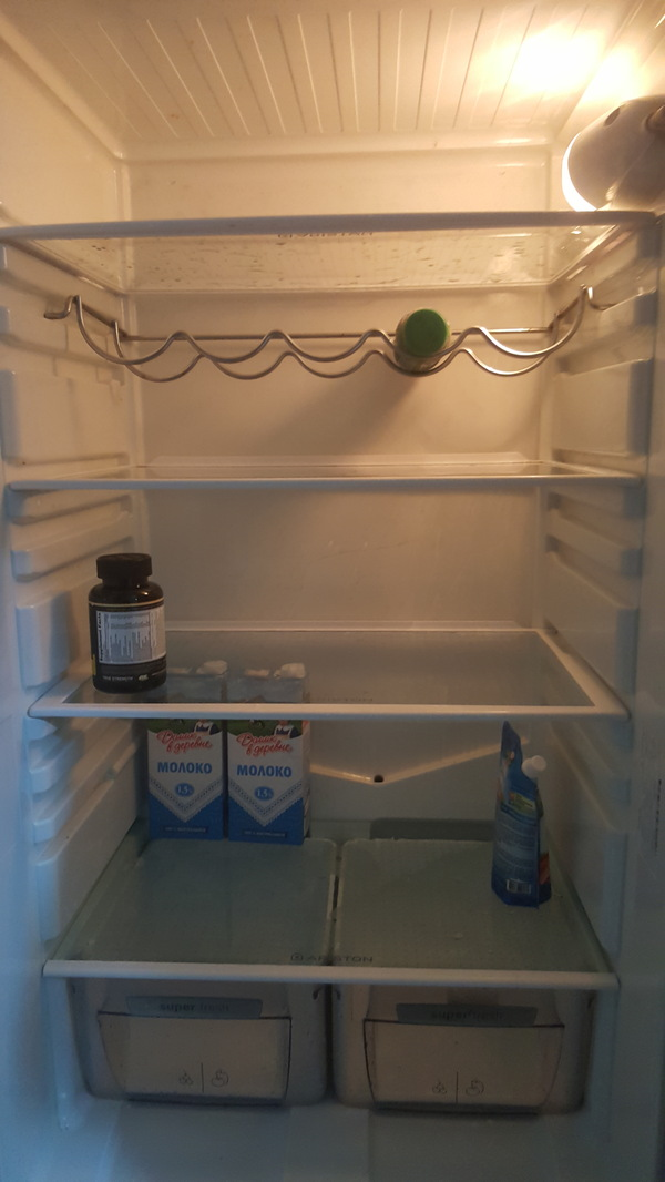 В любой ситуации ищи позитивные моменты... Холодильник, Голод, Ищи позитив, Зарплата
