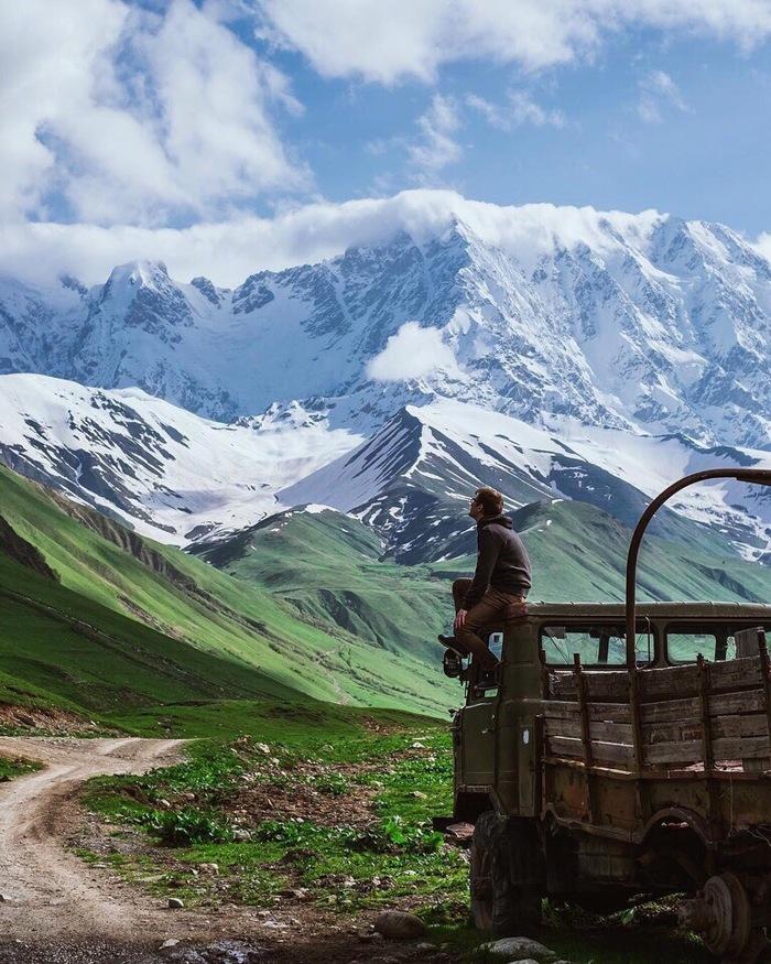 Грузия Фотография, Грузия, Горы, Красота, Красота природы, Длиннопост