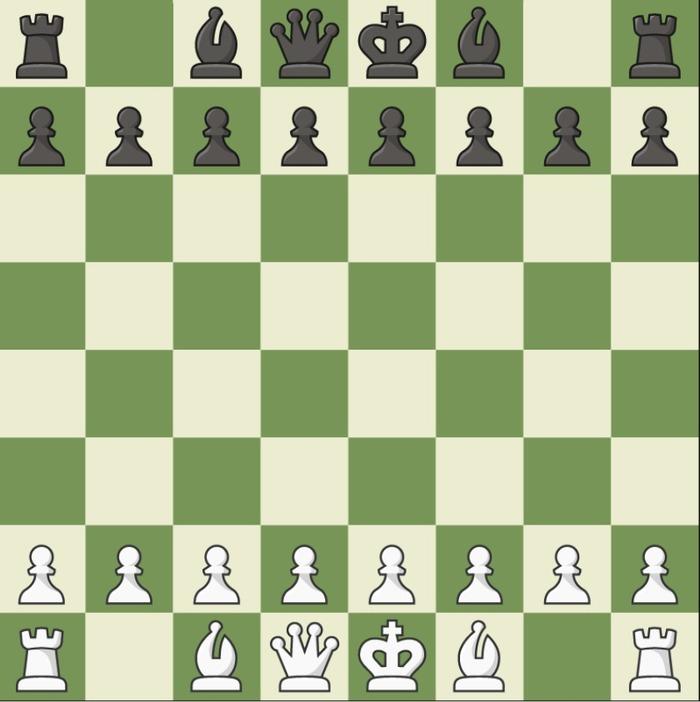Сытые казахи играют в шахматы
