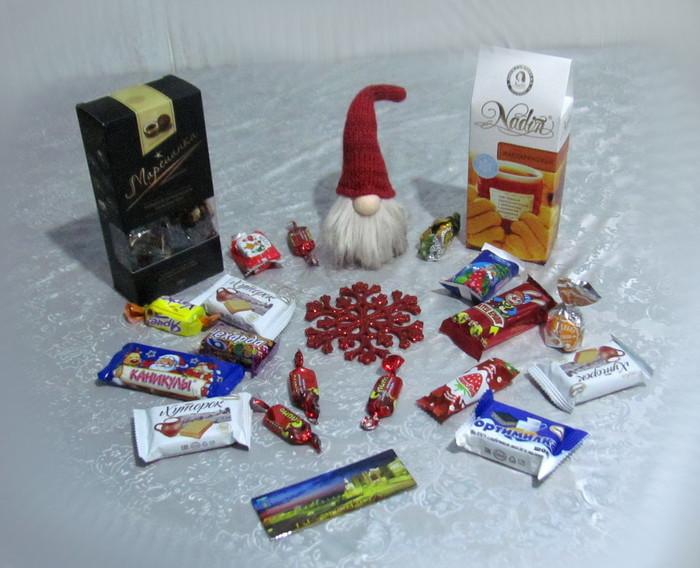 Мой подарок оказался с носом! Тайный Санта, Посылка, Конфеты, Магнитики, Обмен подарками, Отчет по обмену подарками, Длиннопост