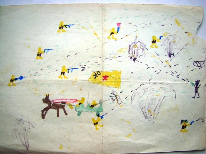 Сохранилось же… Детские рисунки, Рожденные в СССР