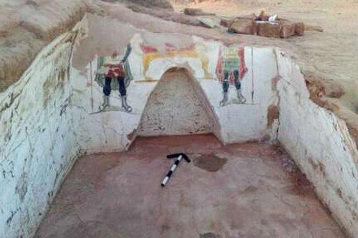 В египетском оазисе нашли необычные гробницы Наука, Интересное, Археология, Египет, История, Римляны, Гробницы, Хорошие новости