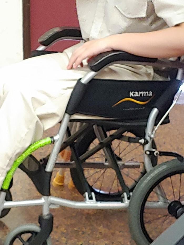 Хорошее название для инвалидной коляски