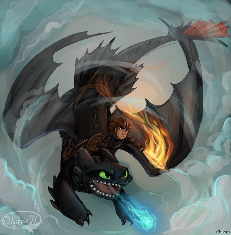 арты как приручить дракона немного