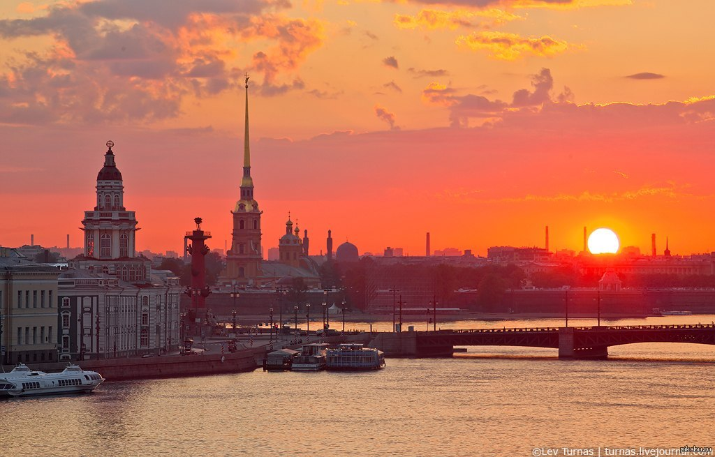 рассвет в санкт петербурге фото чем
