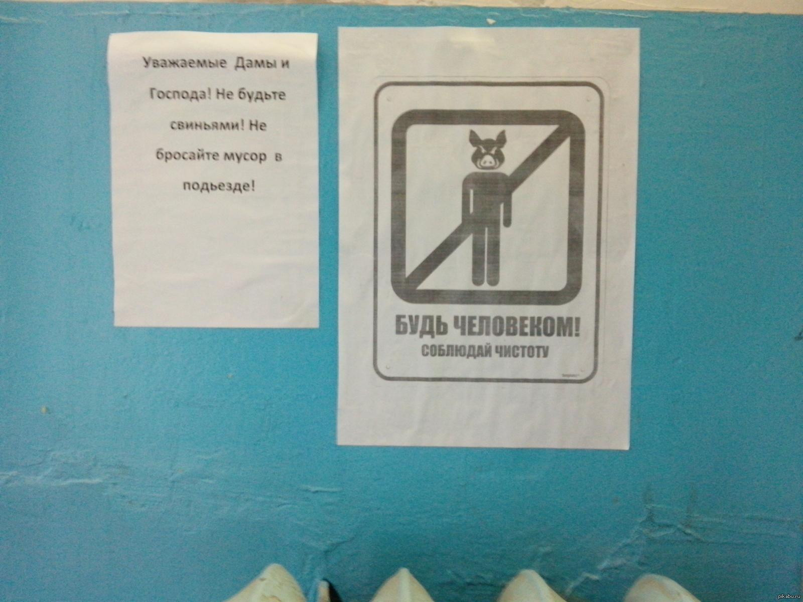 картинки в лифт о чистоте