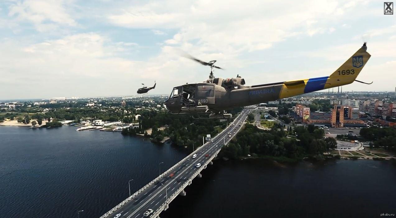 Пизда на вертолете