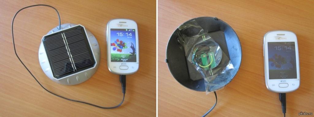 Как сделать солнечный батарей для телефона 298