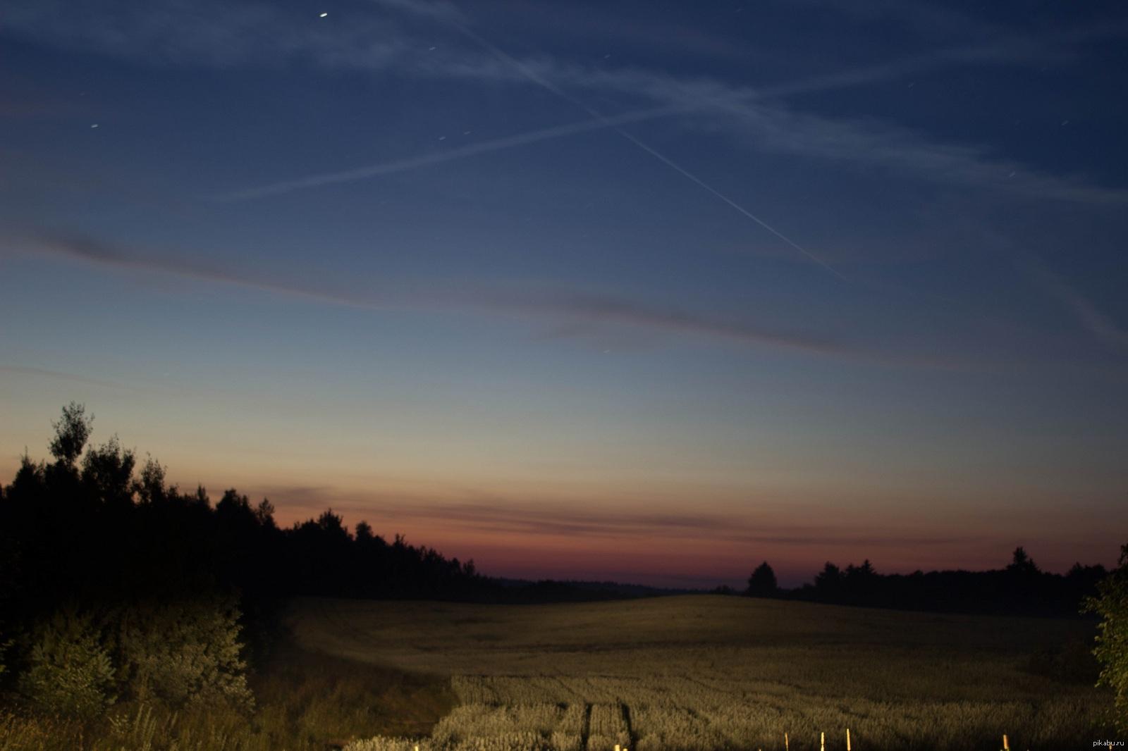 картинки ночью в поле звезд благодать небоскреб, да-да денег