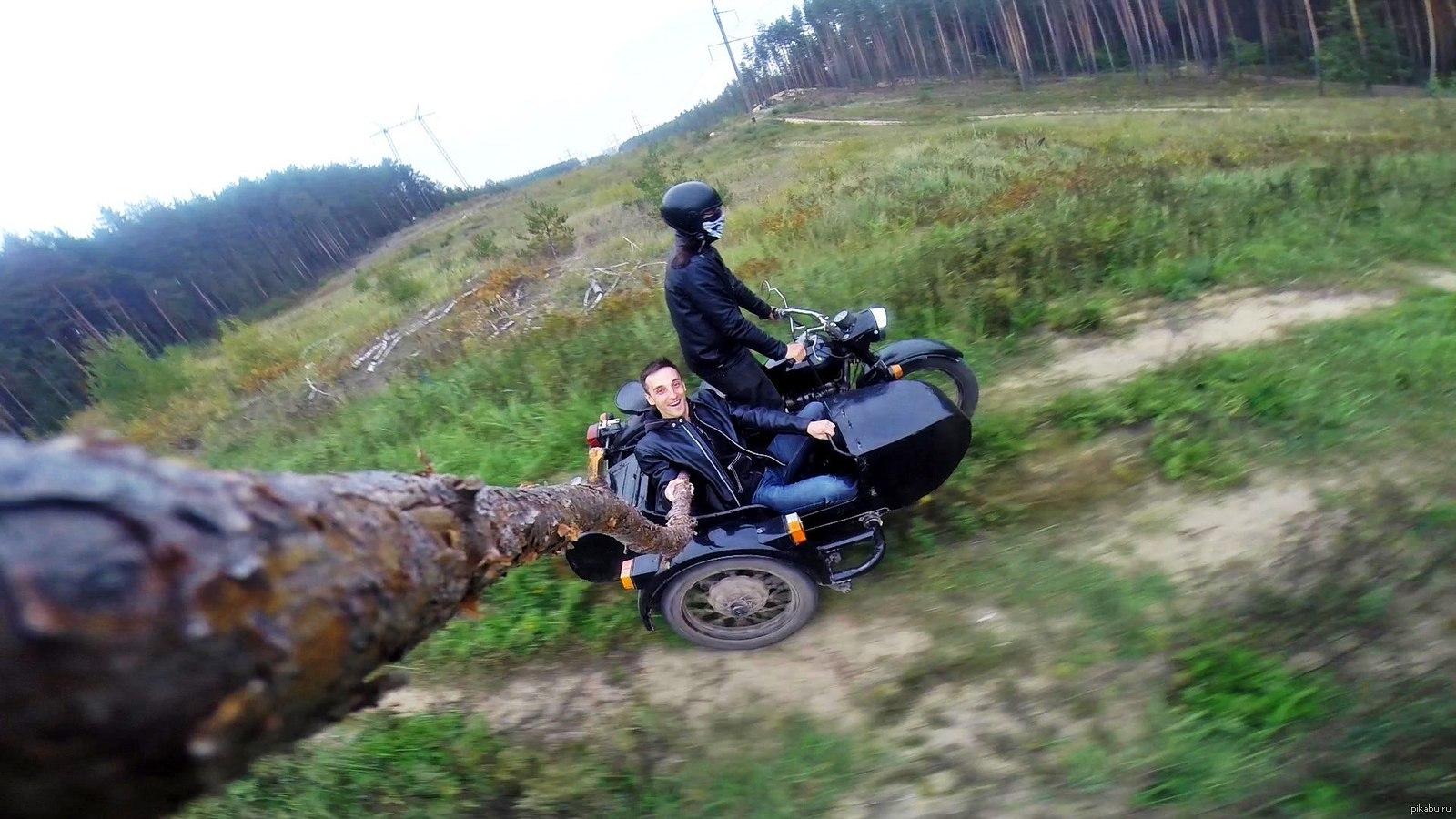 фото приколы про мотоцикл урал это изображения, составленные