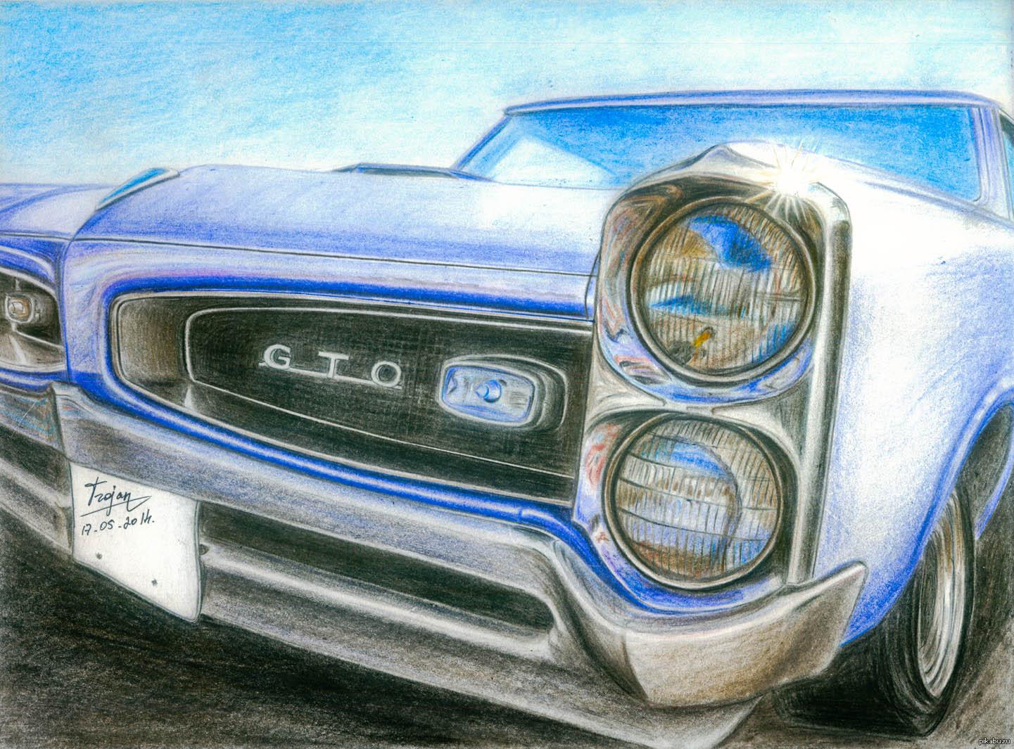 Картинки намалювати машини