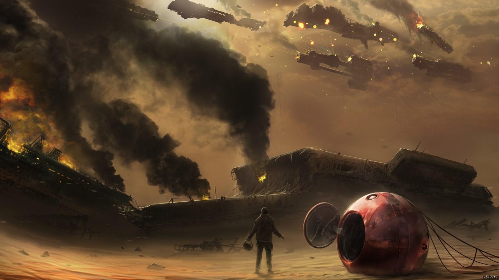 sci fi art -