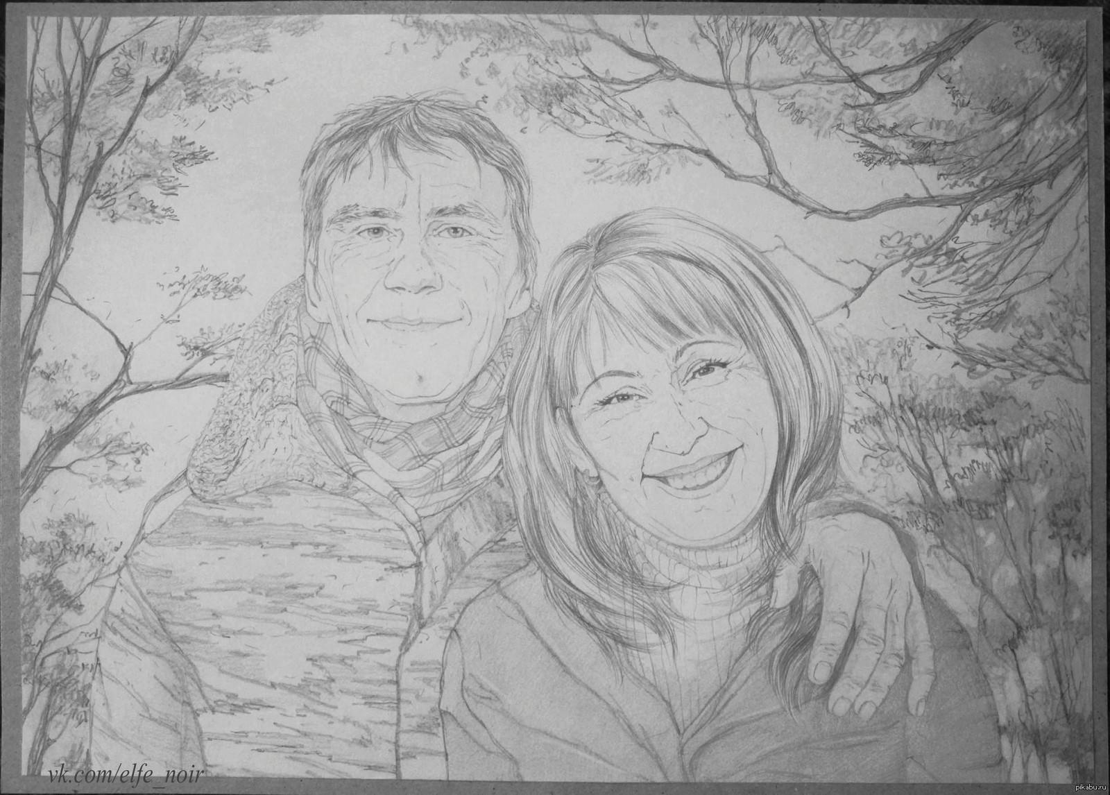 Картинки нарисованные карандашом про любовь