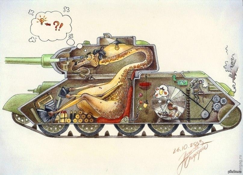 Смешные и прикольные картинки танков, учителю своими