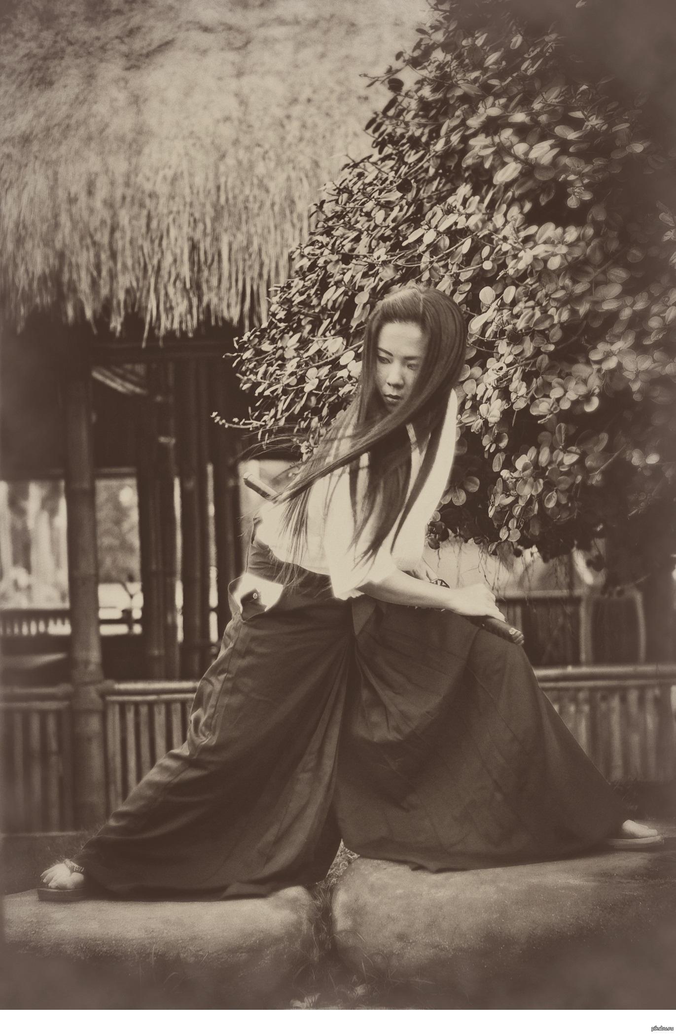 Япония девушка воин