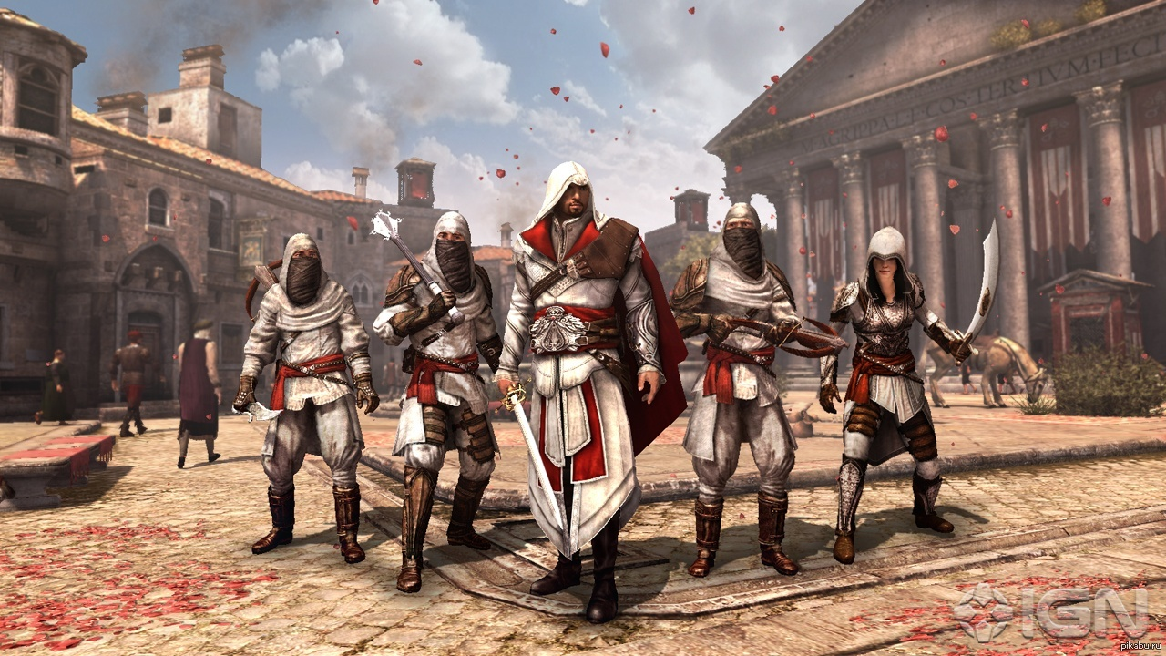 download assassins creed brotherhood - 1231×720