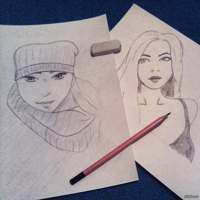 Мои рисунки людей картинки