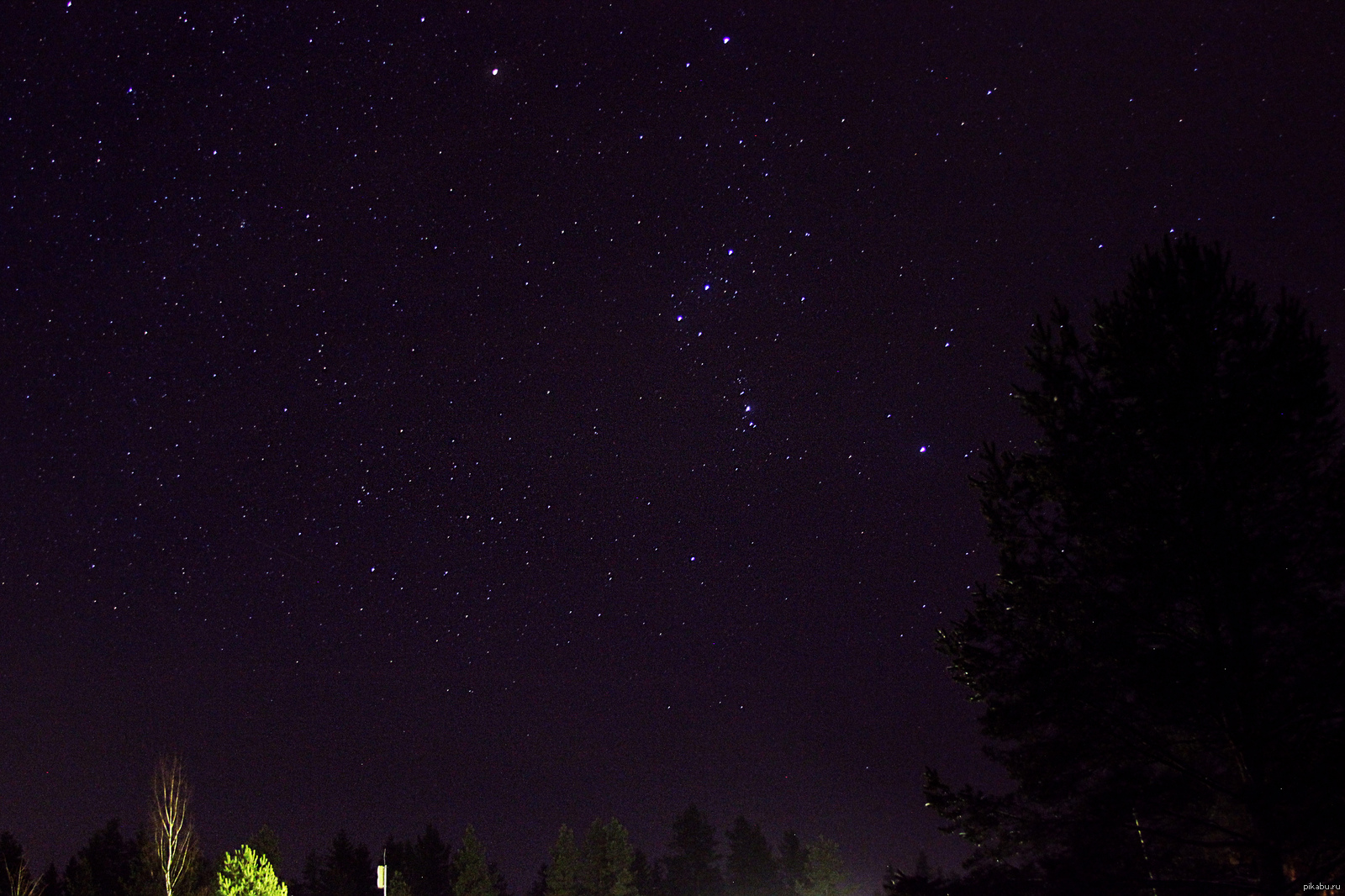 звездное небо в деревне фото создании