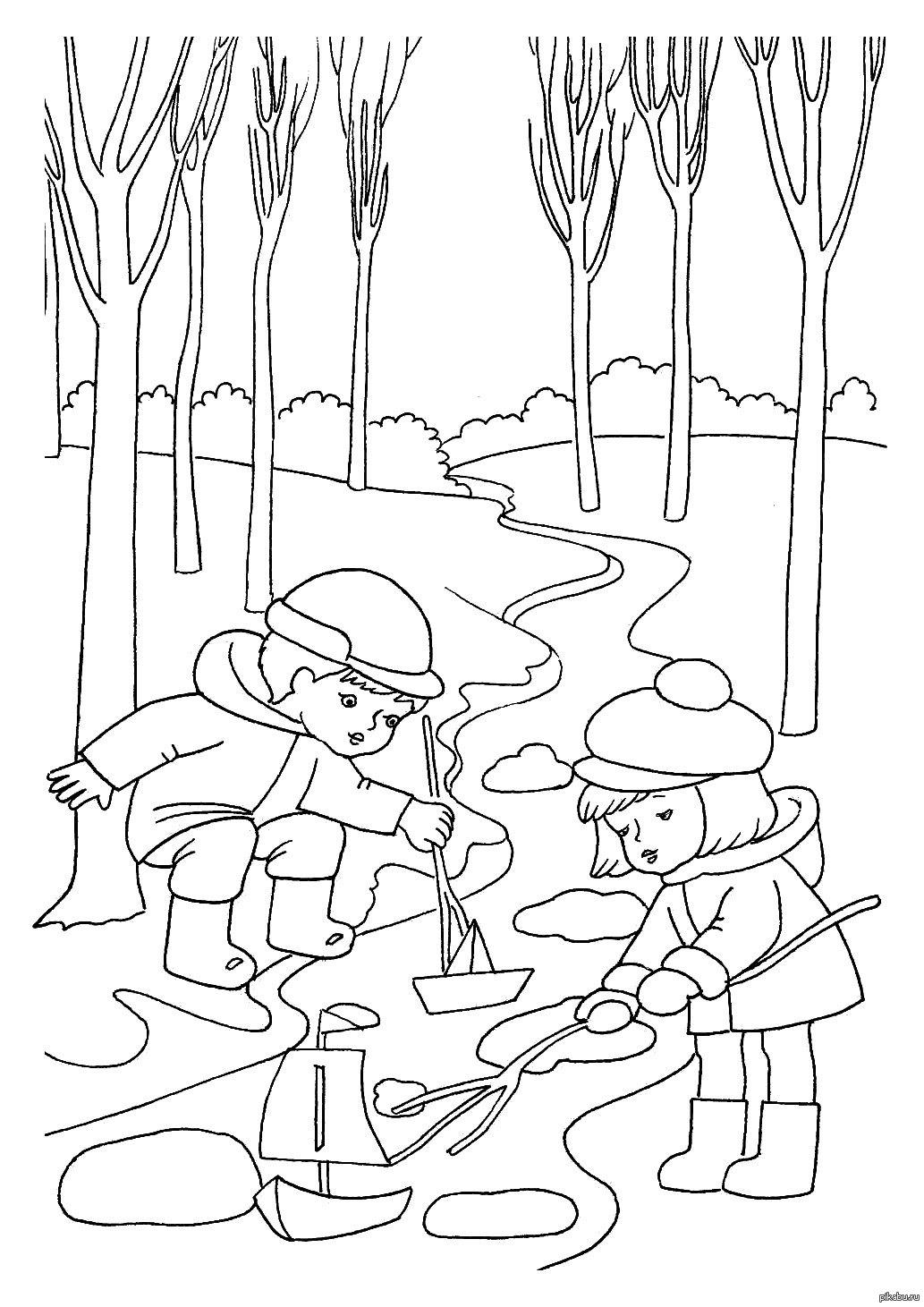 Картинки разных, рисунок о весне 2 класс карандашом