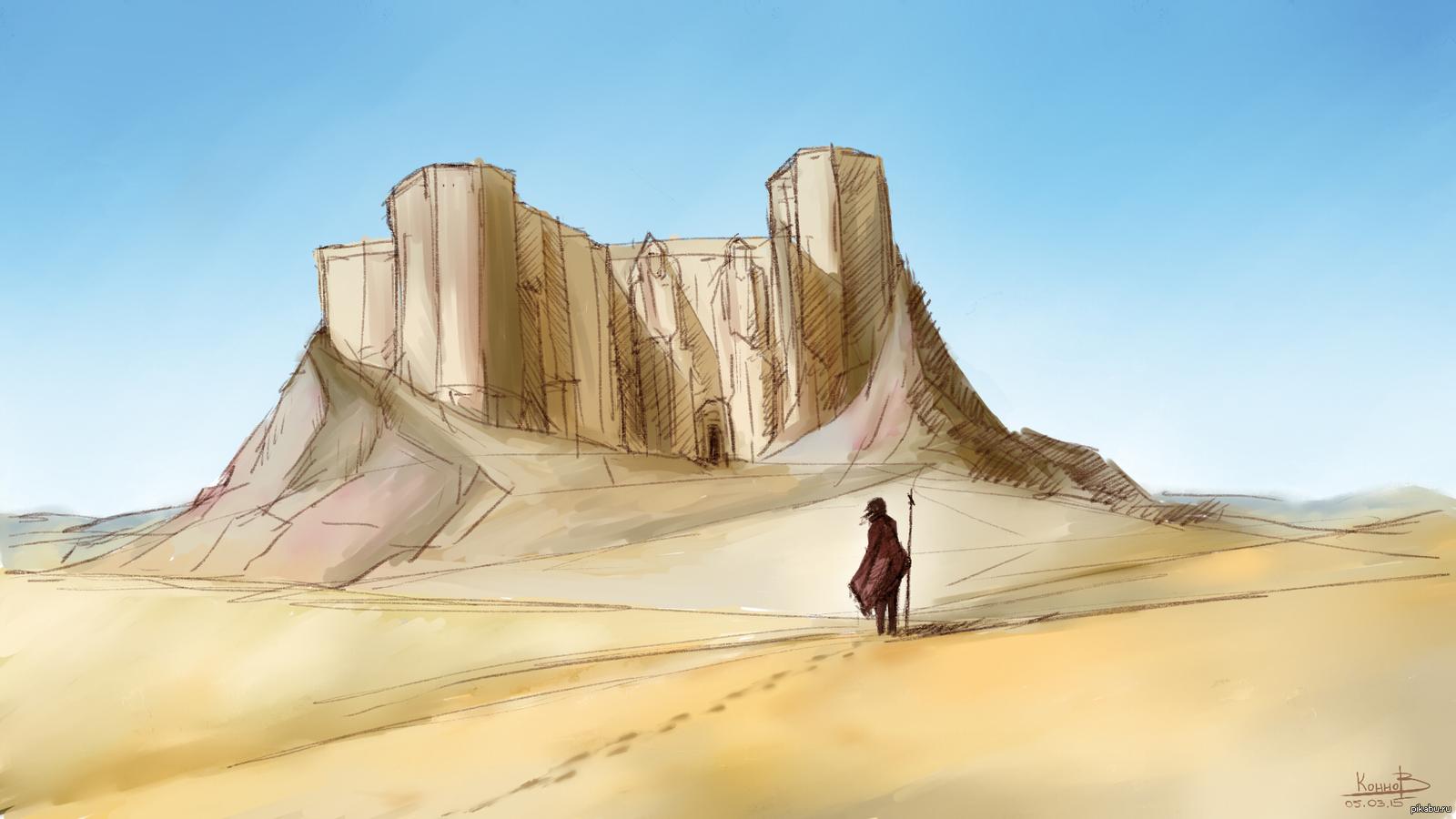 пустынный город рисунок девушка незнакомыми мужчинами