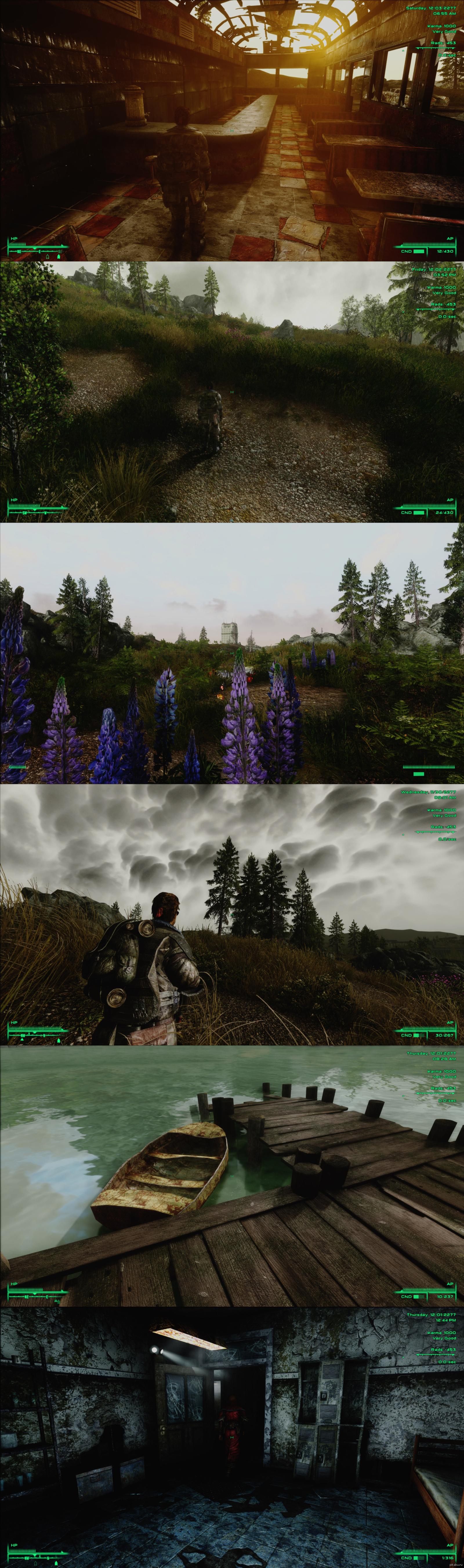 Скачать fallout 3 с графическими модами