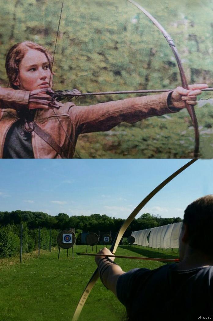 Прикольные картинки с лучниками и про лучников, днем