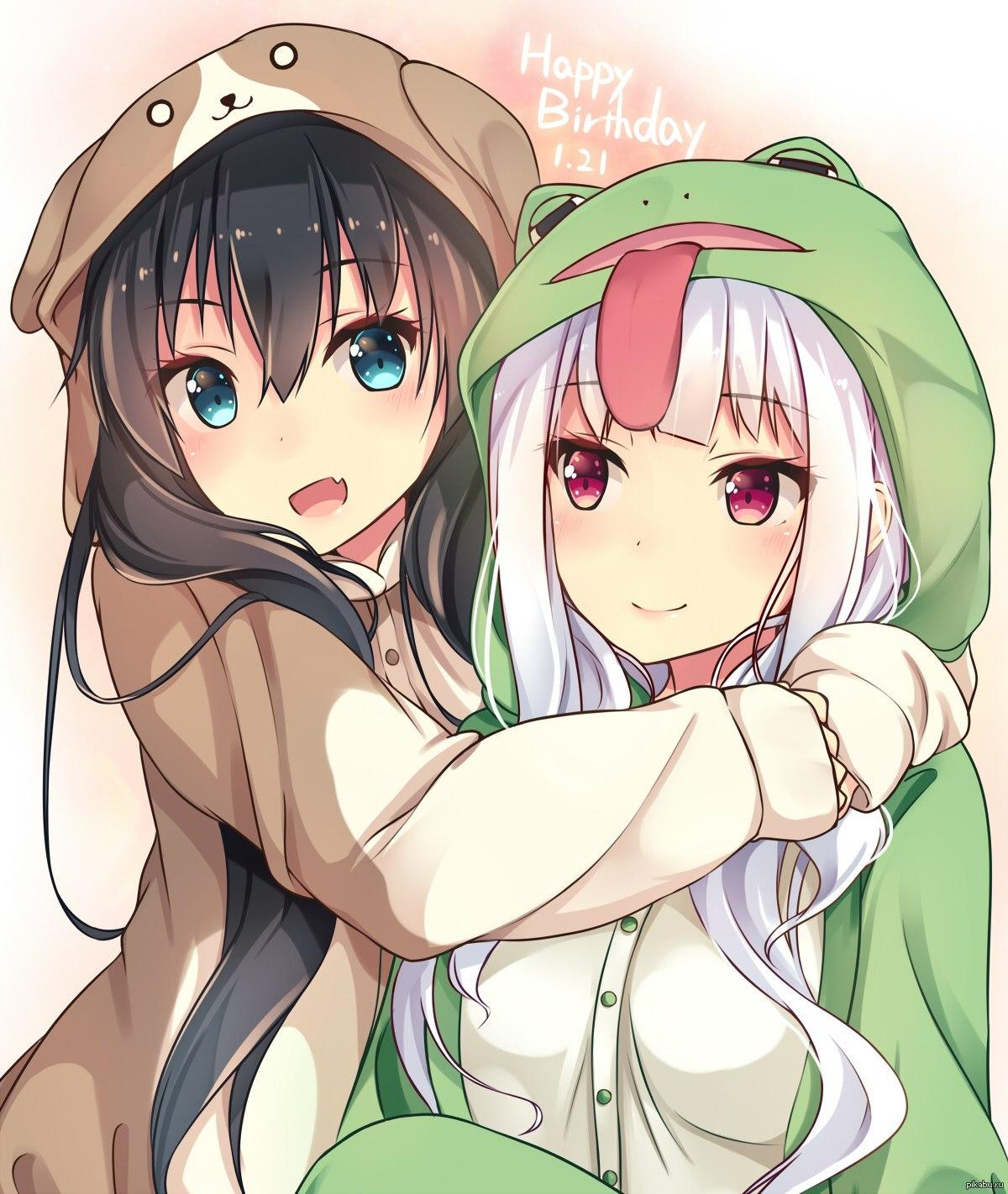 Картинки для подруги аниме